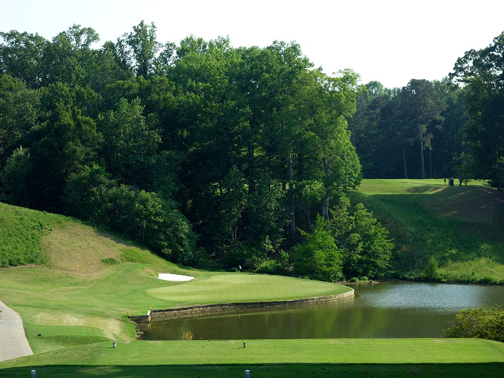 12th Hole at Golden Horseshoe Golf Club (Gold) (188 Yard Par 3)
