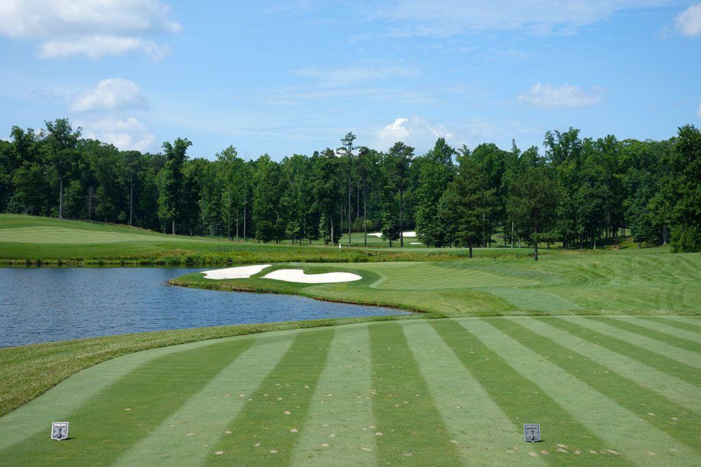 14th Hole at Kinloch Golf Club (152 Yard Par 3)