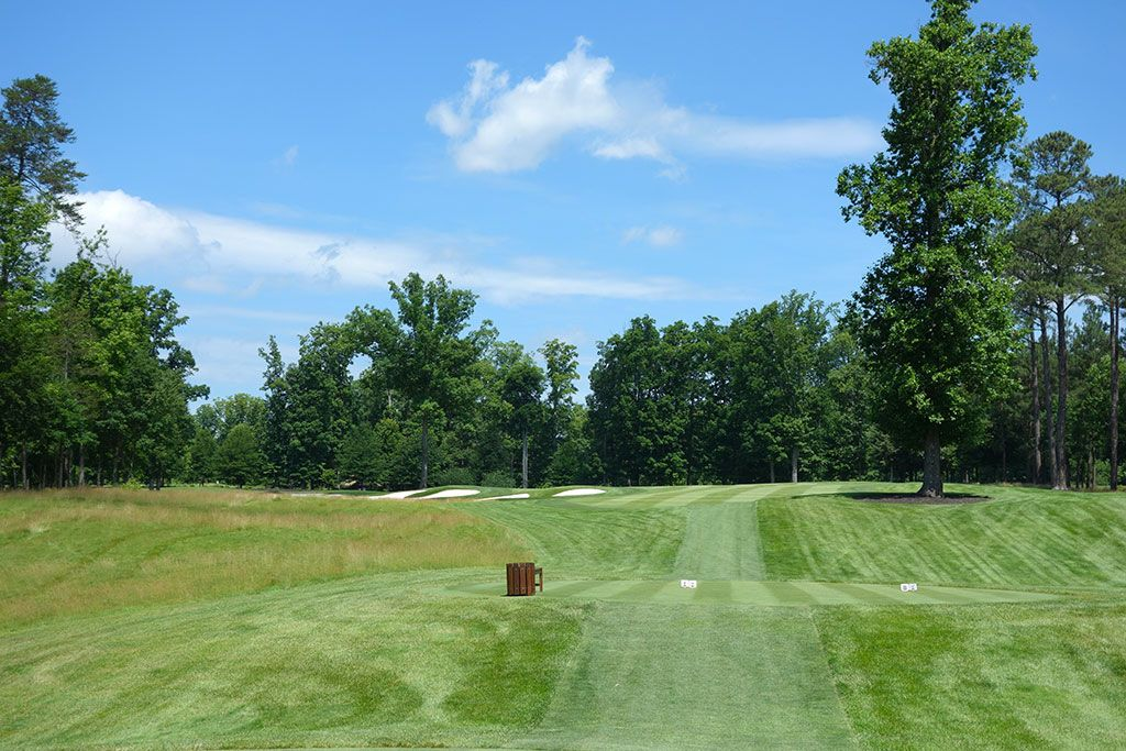 15th Hole at Kinloch Golf Club (328 Yard Par 4)