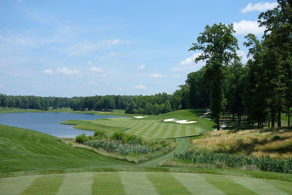 18th Hole at Kinloch Golf Club