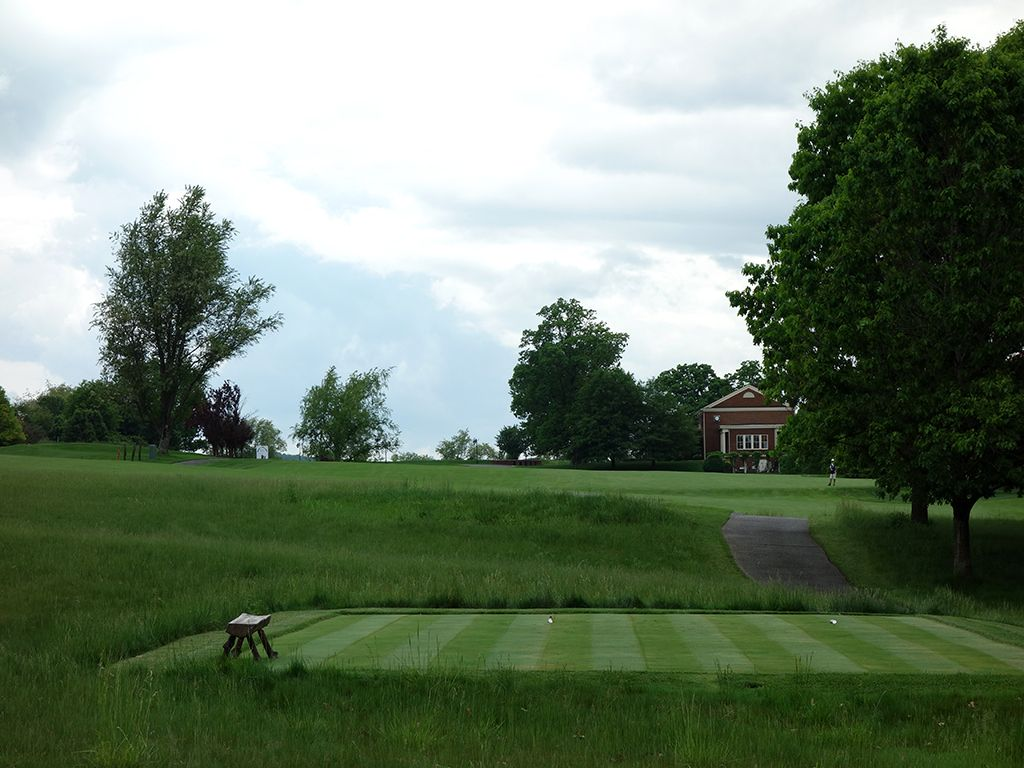 11th Hole at The Olde Farm (498 Yard Par 5)