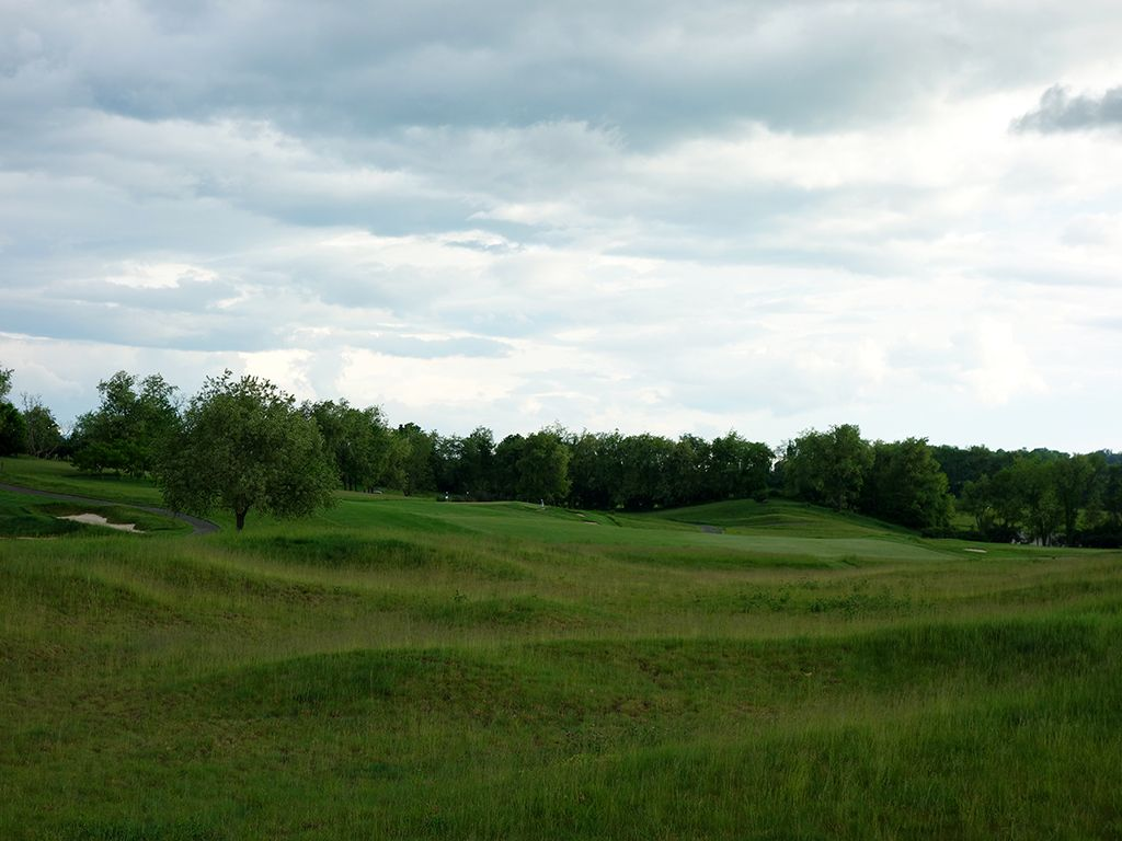 18th Hole at The Olde Farm (550 Yard Par 5)
