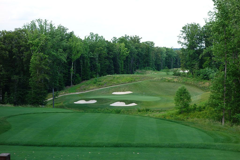 13th Hole at Potomac Shores Golf Club (230 Yard Par 3)