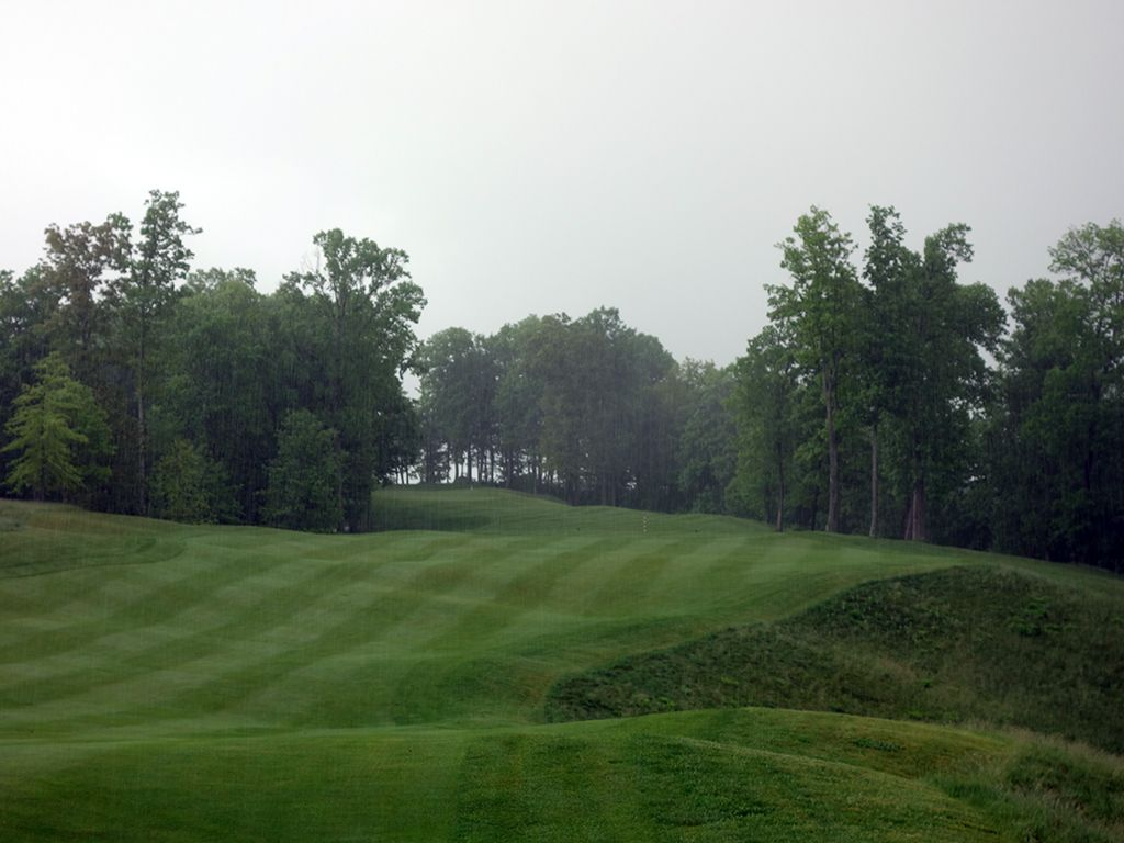 13th Hole at The Highland Course at Primland Resort (612 Yard Par 5)