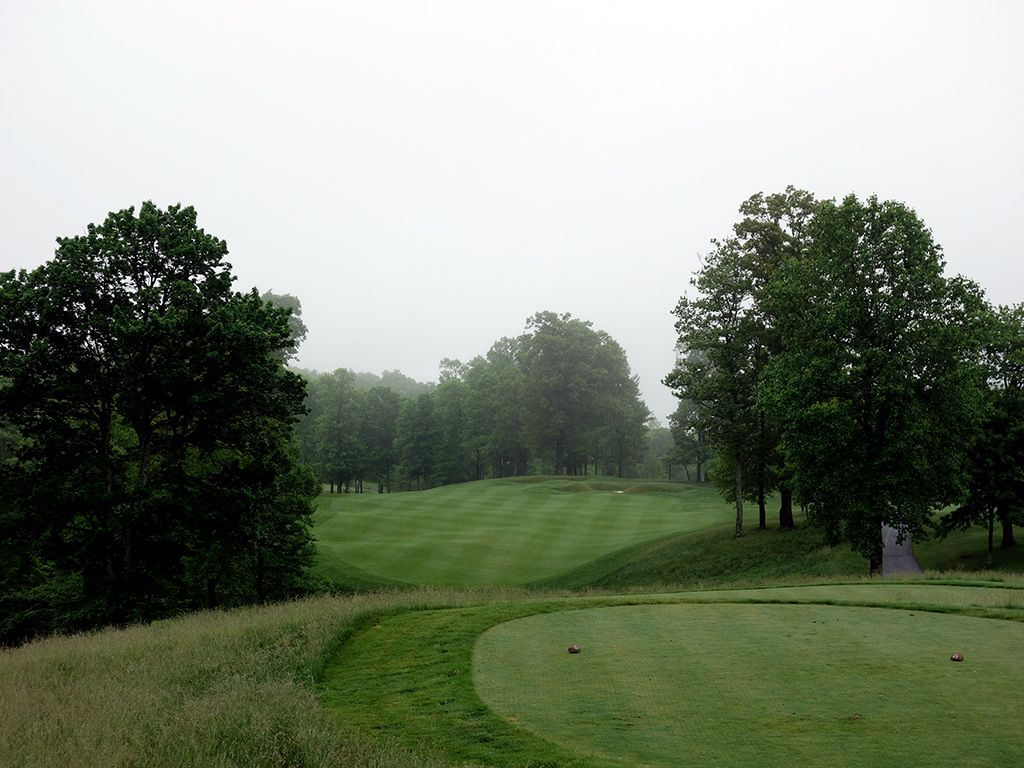 7th Hole at The Highland Course at Primland Resort (494 Yard Par 4)
