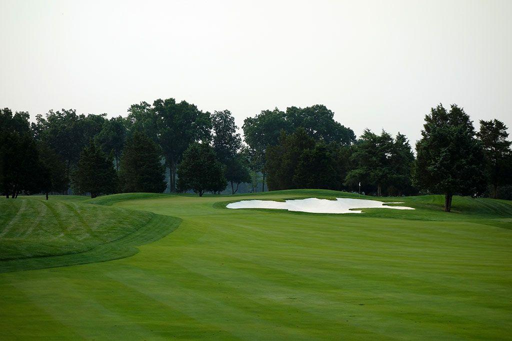 3rd Hole at Robert Trent Jones Club (500 Yard Par 4)