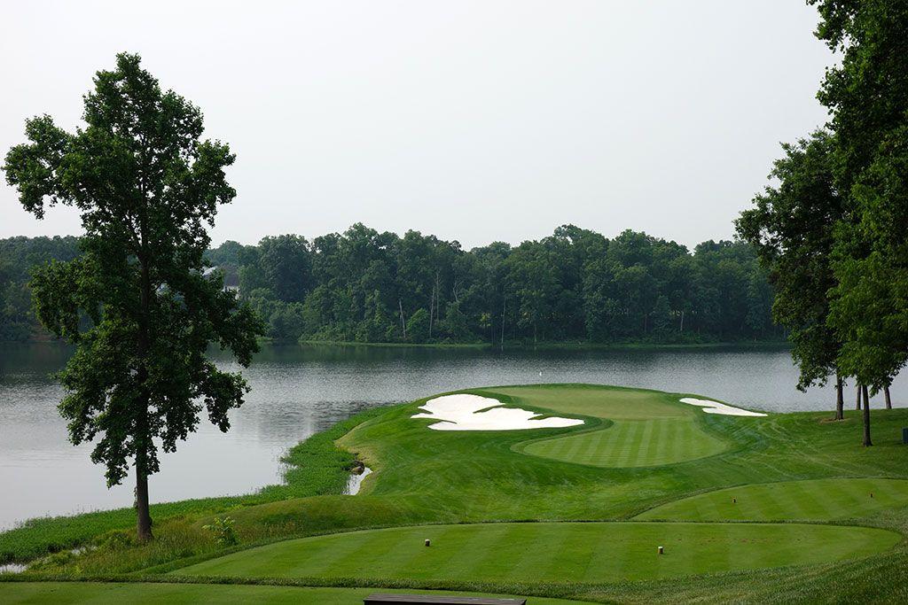 9th Hole at Robert Trent Jones Golf Club (200 Yard Par 3)