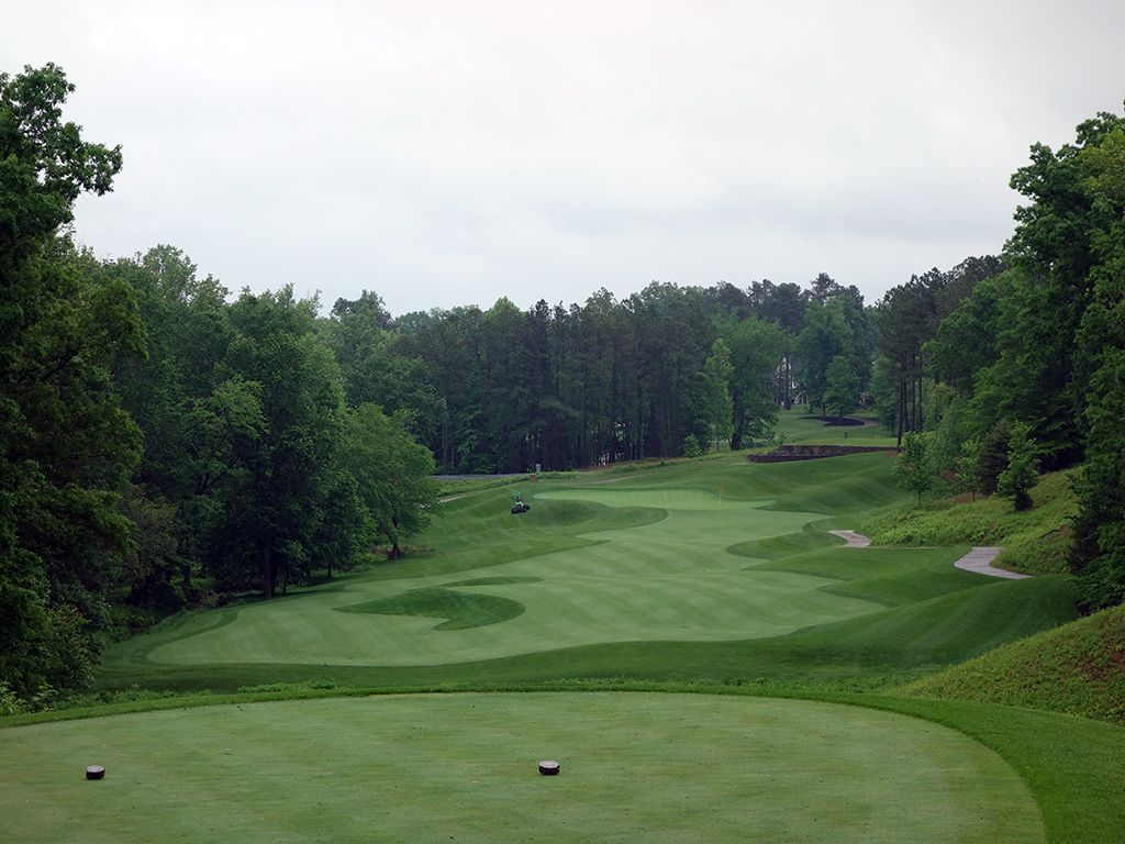 14th Hole at Spring Creek Golf Club (445 Yard Par 4)
