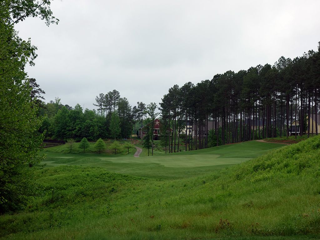 16th Hole at Spring Creek Golf Club (389 Yard Par 4)