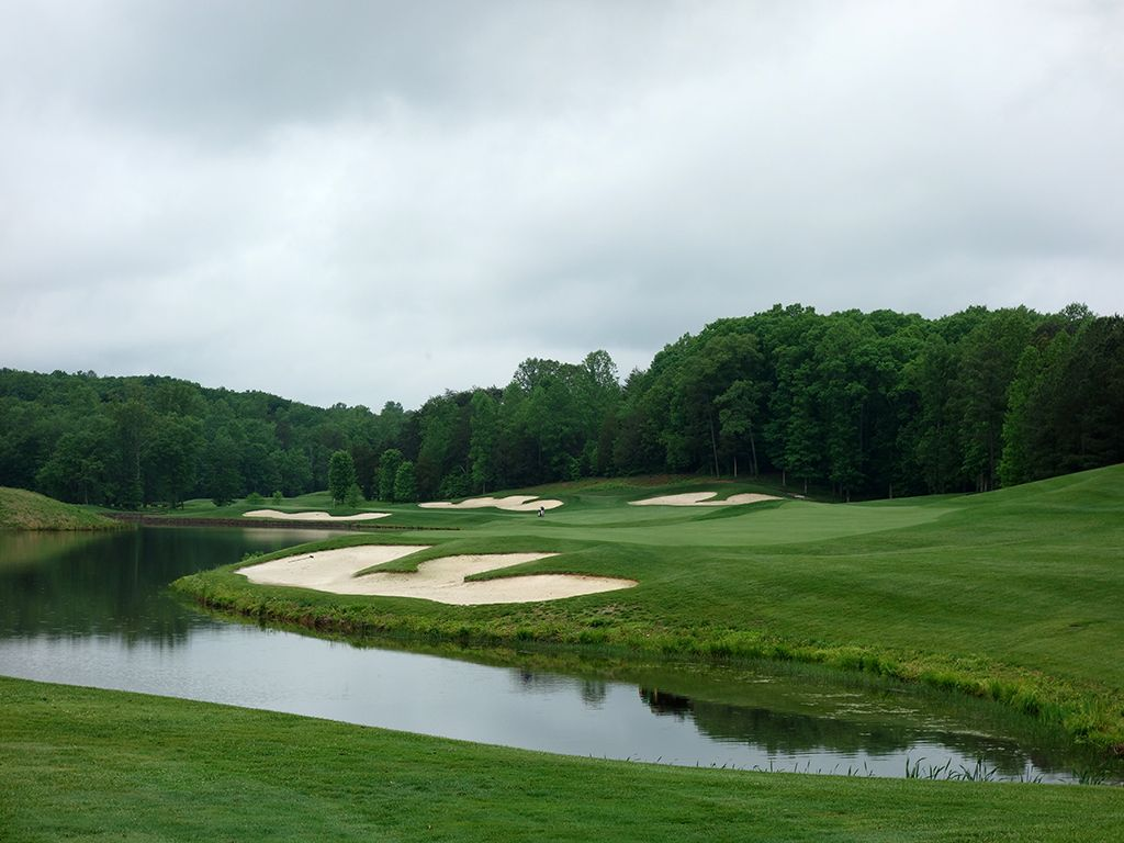 18th Hole at Spring Creek Golf Club (561 Yard Par 5)