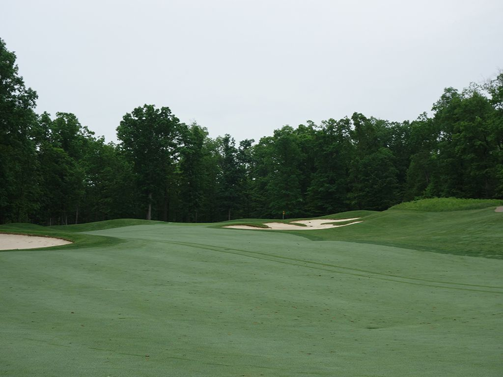 6th Hole at Spring Creek Golf Club (415 Yard Par 4)