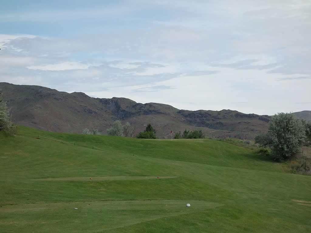 12th Hole at Alta Lake Golf Resort (192 Yard Par 3)