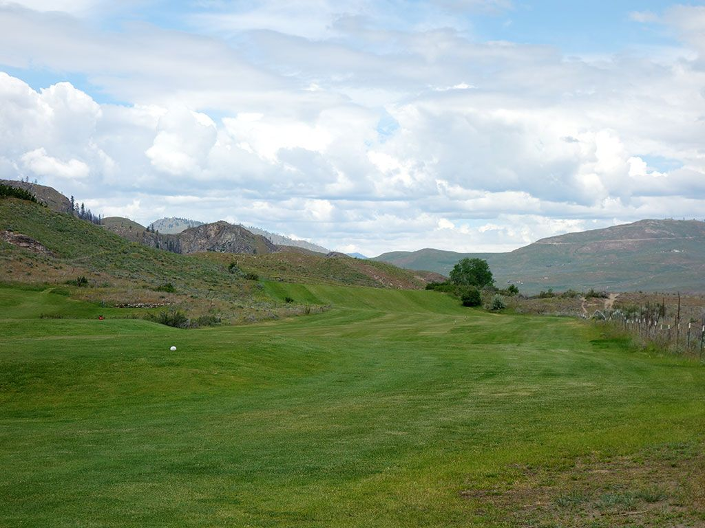 17th Hole at Alta Lake Resort (545 Yard Par 5)