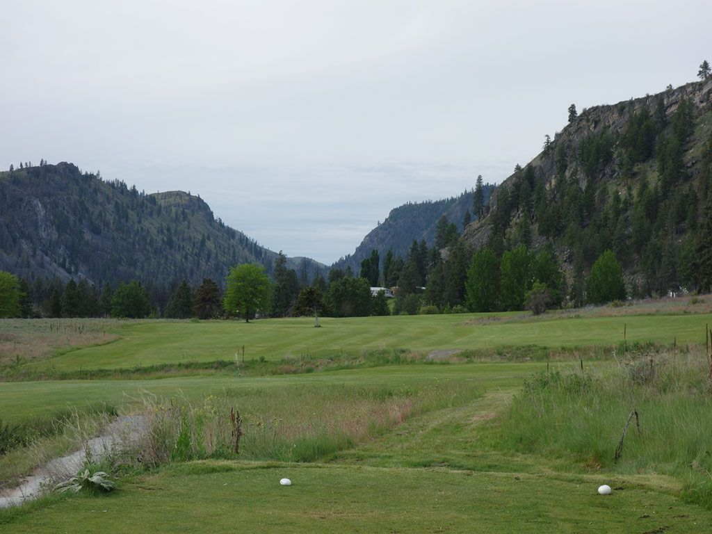 5th Hole at Alta Lake Golf Resort (470 Yard Par 5)