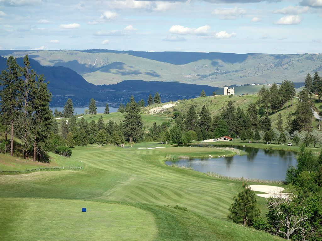 14th Hole at Bear Mountain Ranch (586 Yard Par 5)