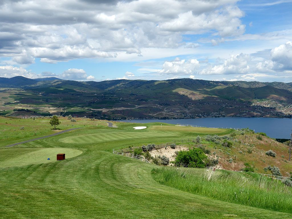 3rd Hole at Bear Mountain Ranch (204 Yard Par 3)