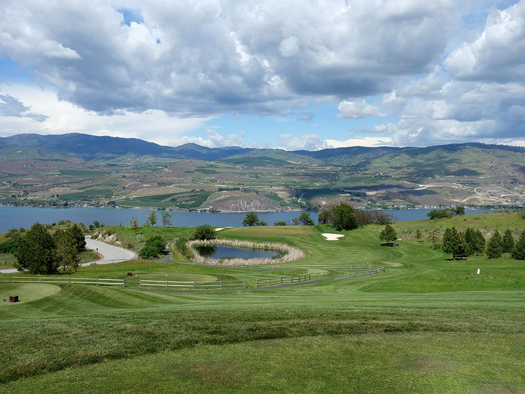 7th Hole at Bear Mountain Resort (233 Yard Par 3)
