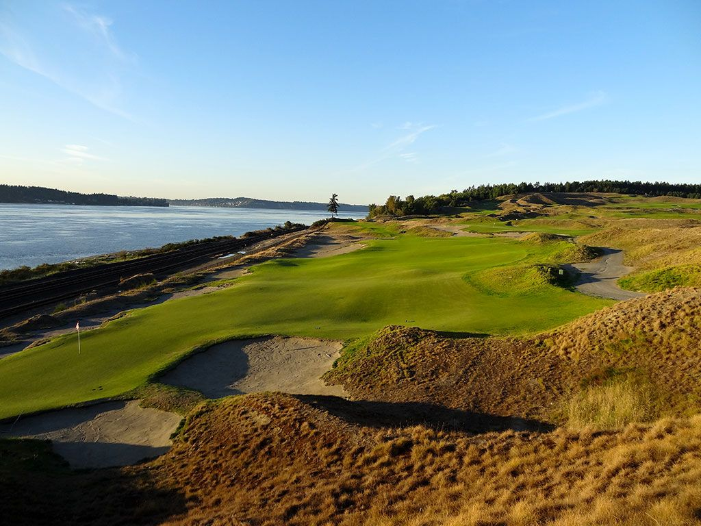 16th Hole at Chambers Bay