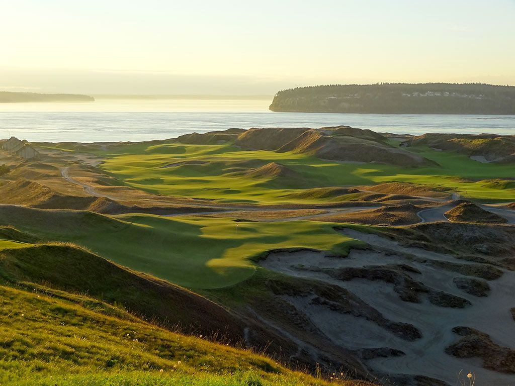 9th Hole at Chambers Bay