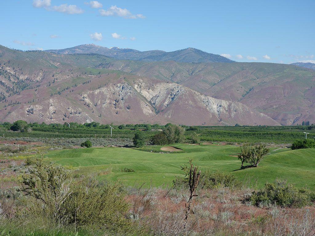 5th Hole at Desert Canyon (482 Yard Par 4)