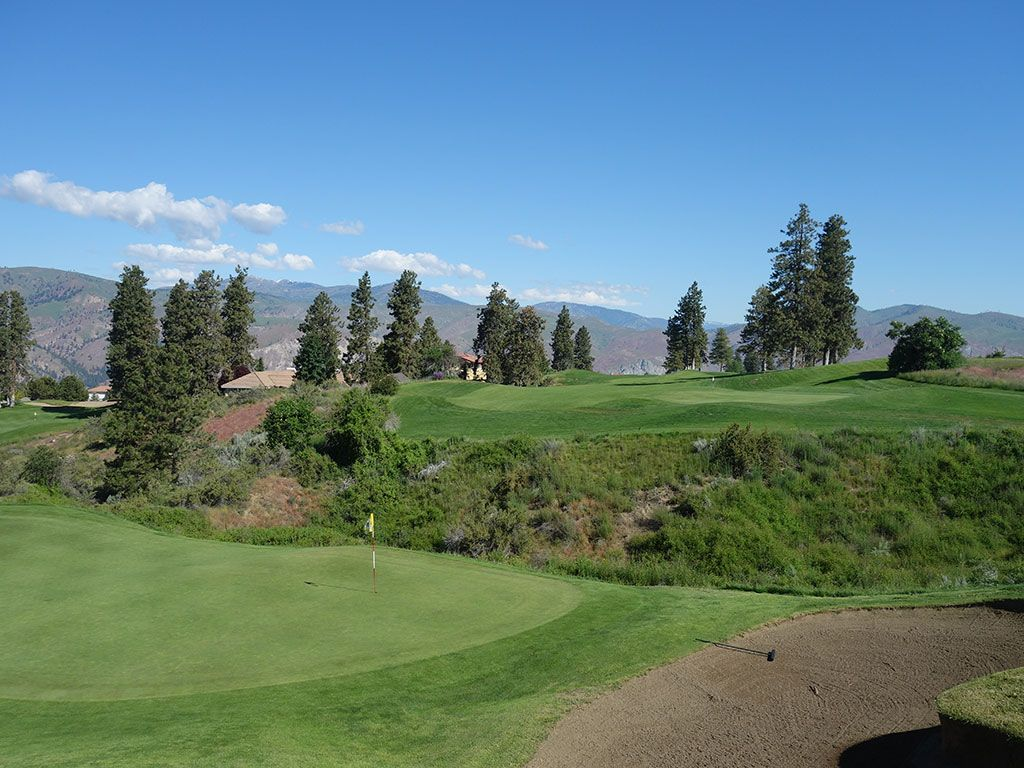 7th Hole at Desert Canyon Golf Resort (575 Yard Par 5)