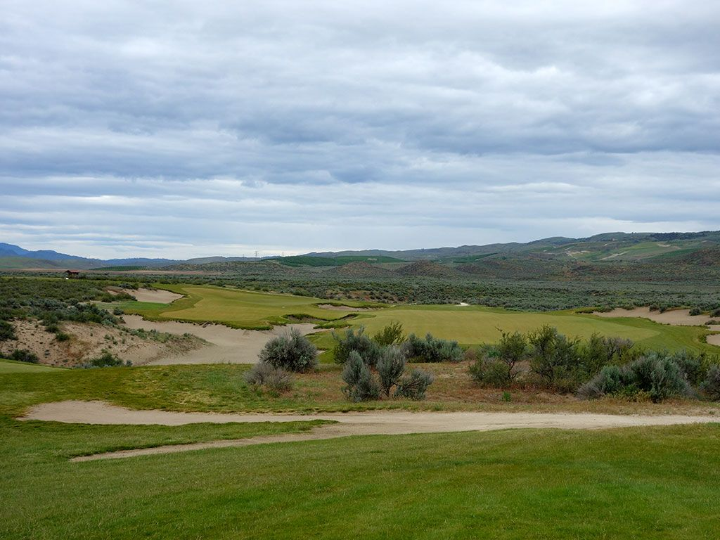14th Hole at Gamble Sands (437 Yard Par 4)
