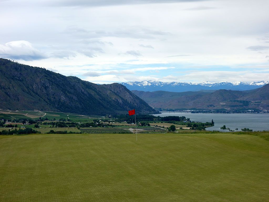2nd Hole at Gamble Sands (301 Yard Par 4)