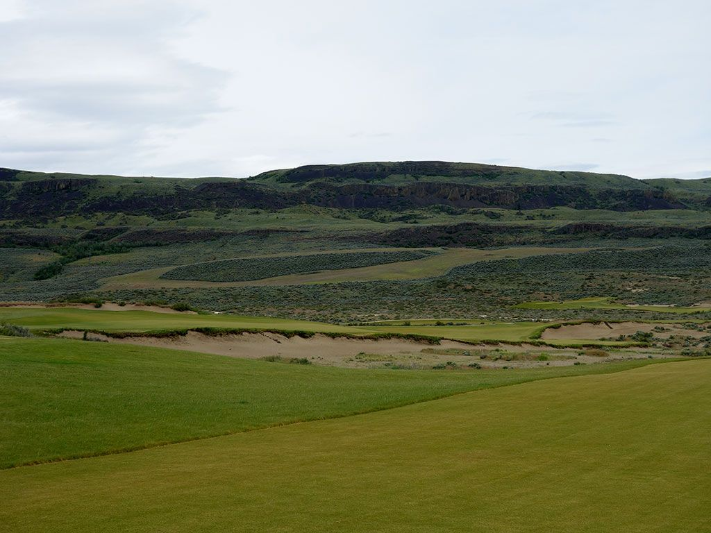 5th Hole at Gamble Sands (517 Yard Par 4)