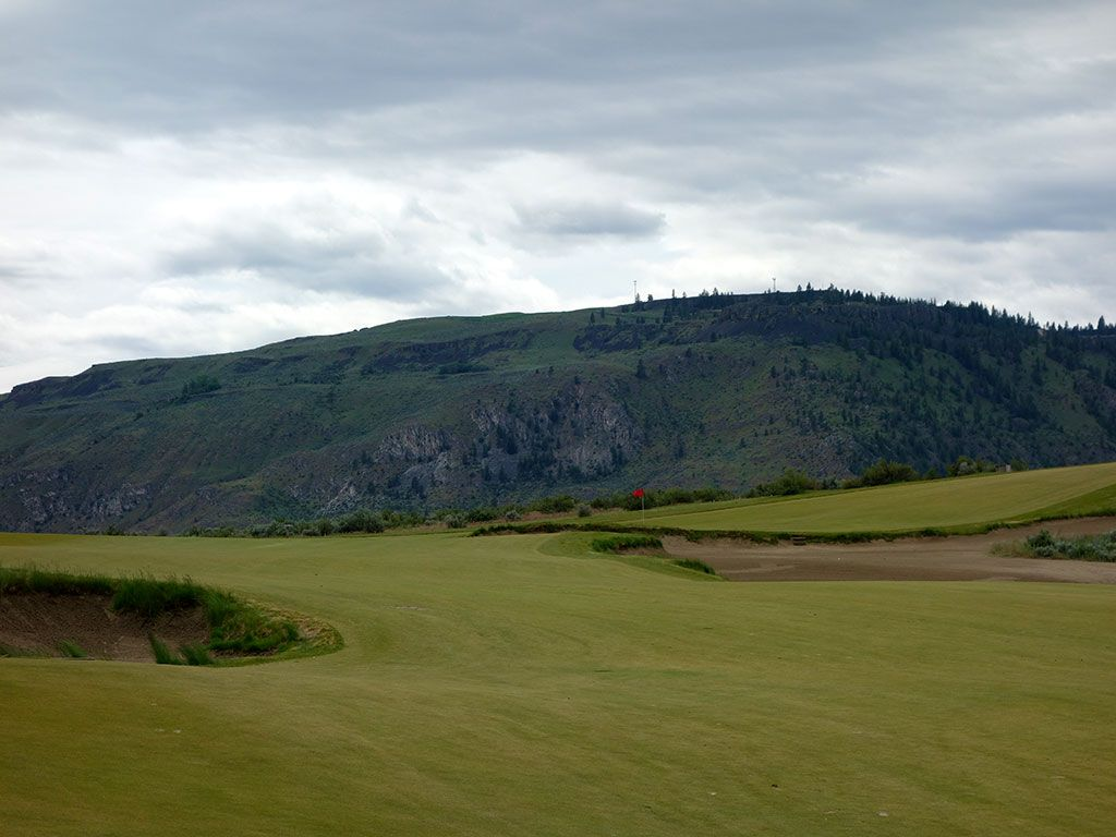 7th Hole at Gamble Sands (514 Yard Par 5)