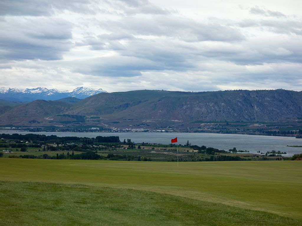 8th Hole at Gamble Sands (313 Yard Par 4)