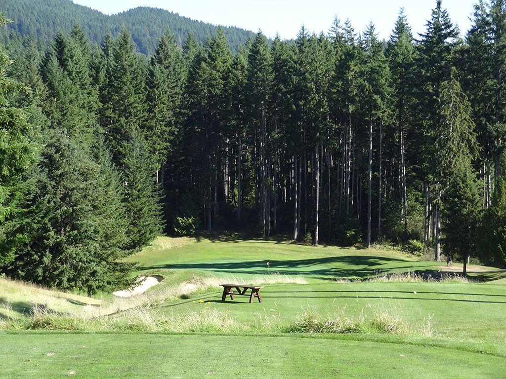 12th Hole at Gold Mountain Golf Club (Olympic) (251 Yard Par 3)