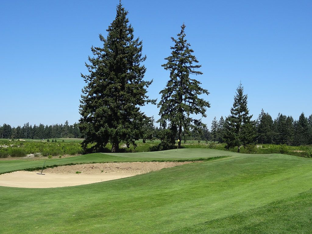 11th Hole at The Home Course (340 Yard Par 4)