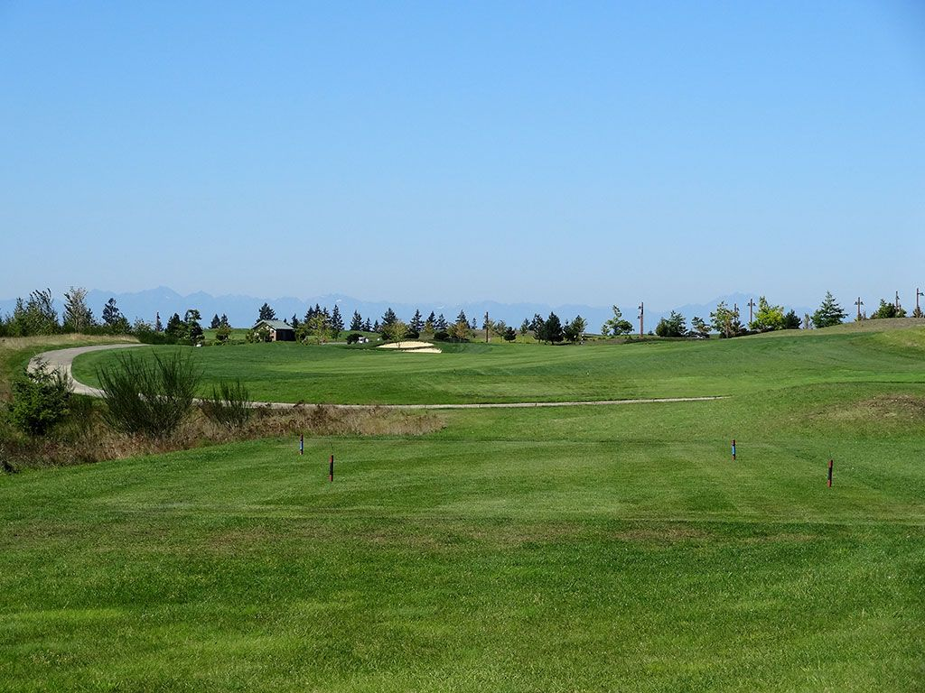 13th Hole at The Home Course (466 Yard Par 4)