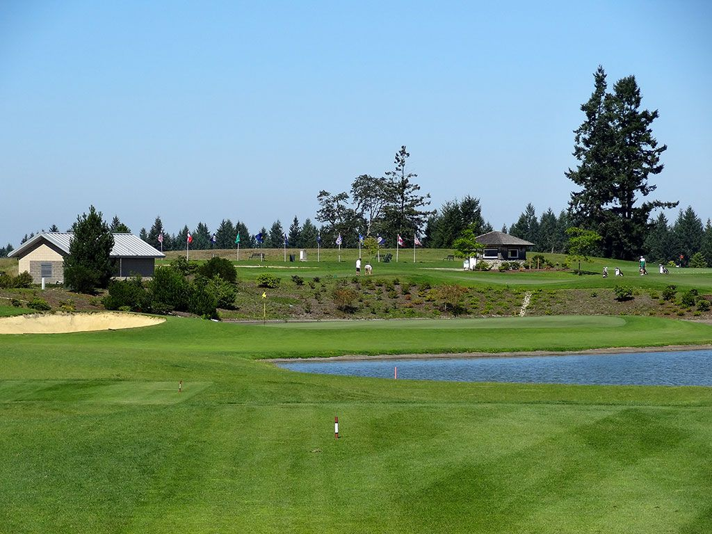 14th Hole at The Home Course (196 Yard Par 3)
