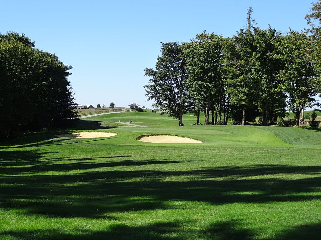 9th Hole at The Home Course (432 Yard Par 4)