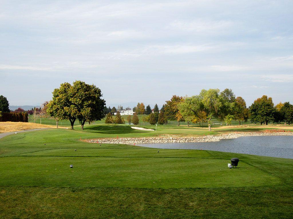 7th Hole at Liberty Lake Golf Course