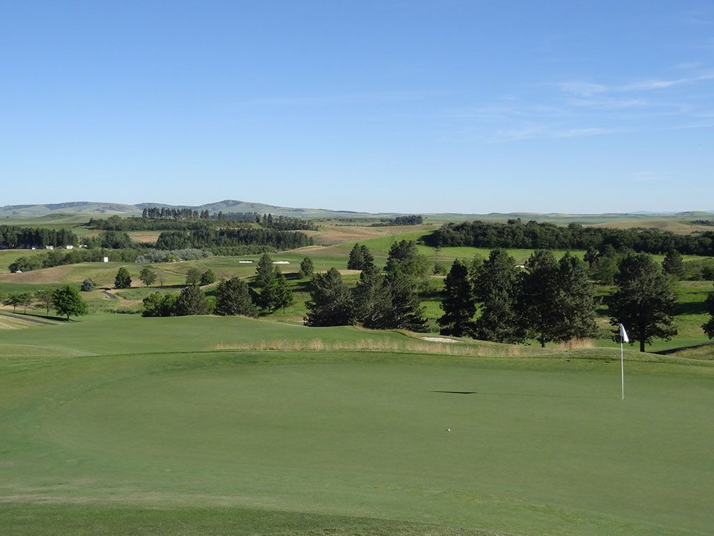 12th Hole at Palouse Ridge Golf Club