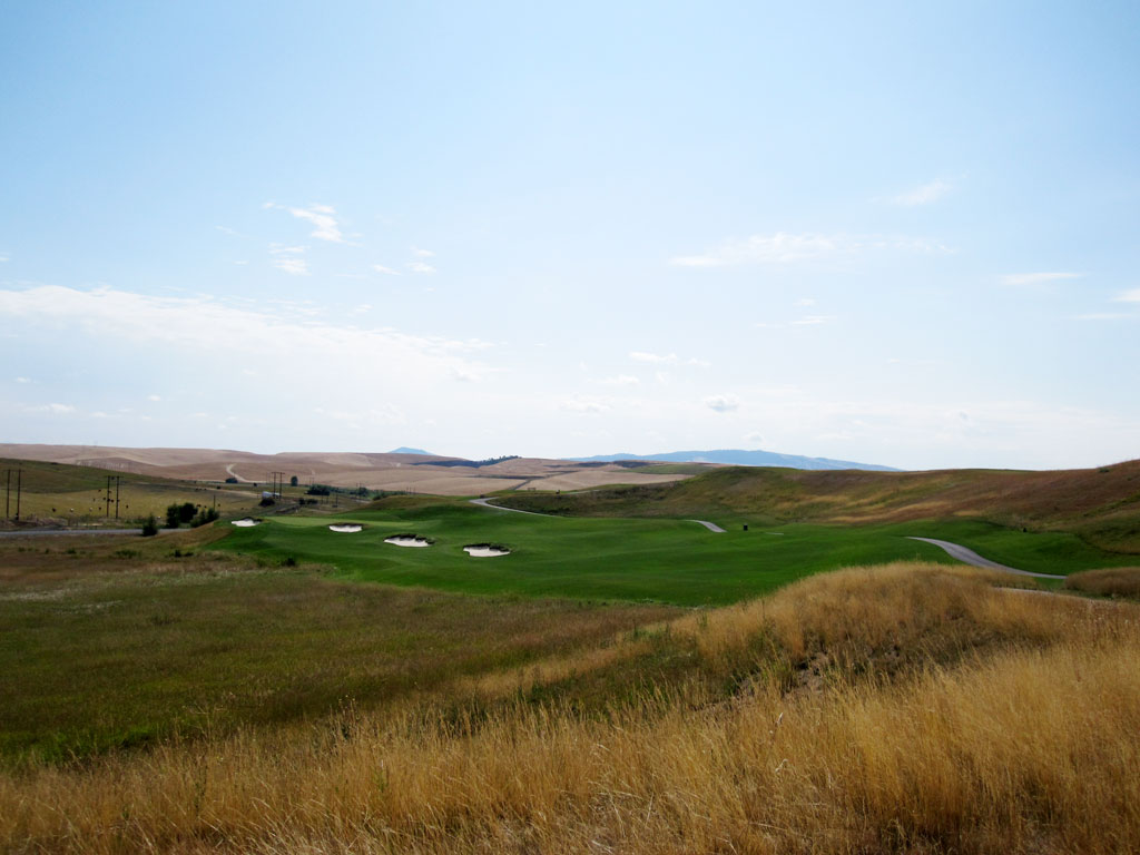 15th Hole at Palouse Ridge (369 Yard Par 4)