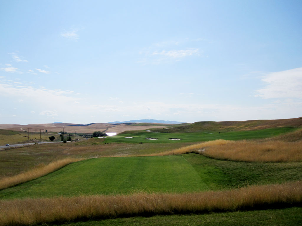 15th Hole at Palouse Ridge Golf Club (369 Yard Par 4)