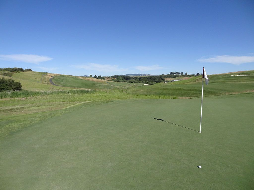 3rd Hole at Palouse Ridge Golf Club (484 Yard Par 4)