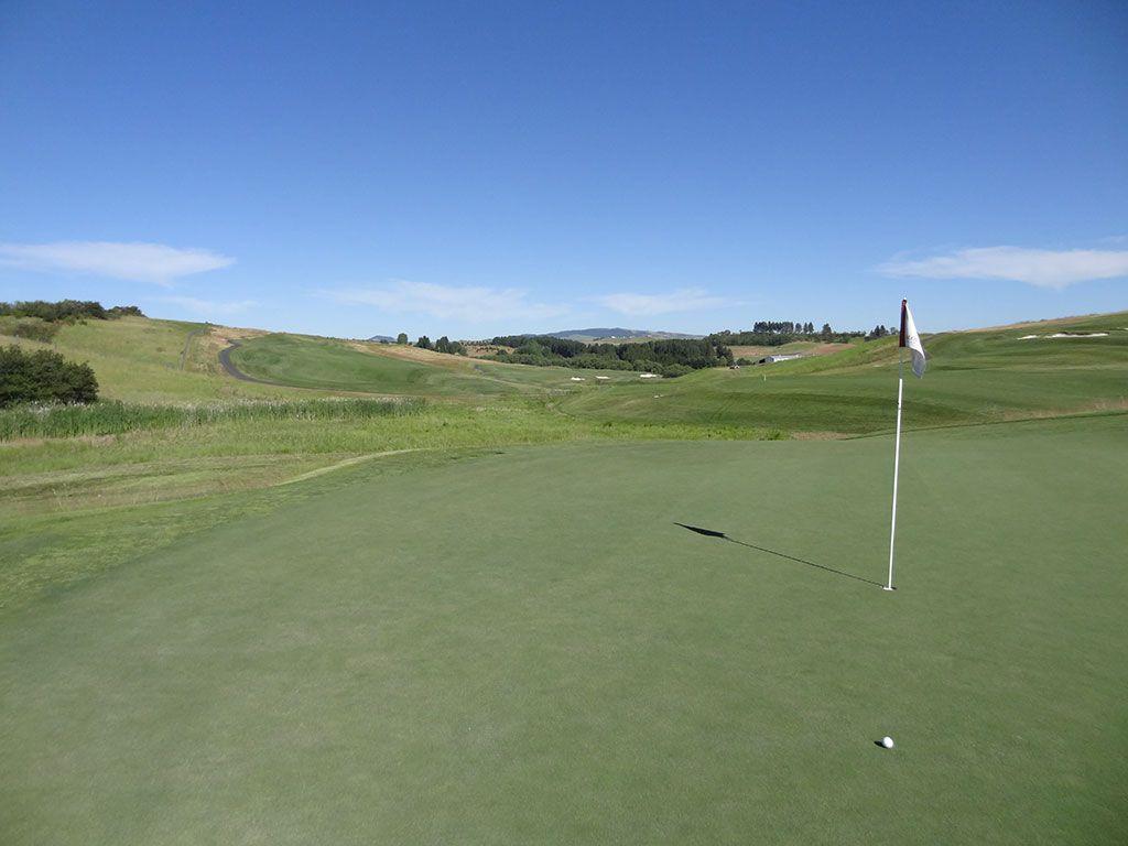 3rd Hole at Palouse Ridge Golf Club (484 Yard Par 4)