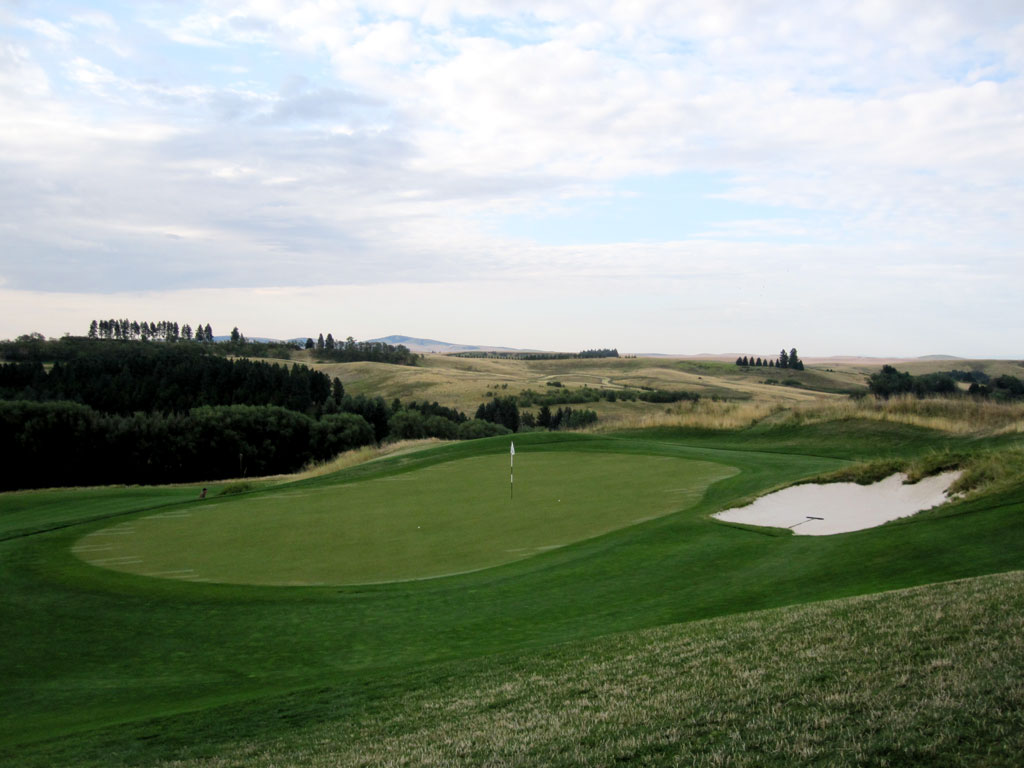 4th Hole at Palouse Ridge Golf Club (190 Yard Par 3)
