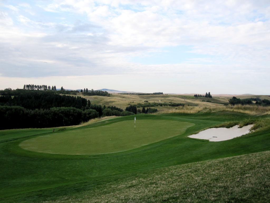4th Hole at Palouse Ridge Golf Club (190 Yard Par 3)