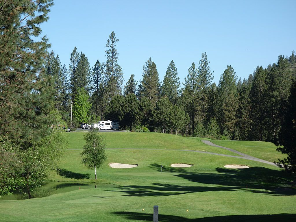 11th Hole at The Creek at Qualchan (210 Yard Par 3)