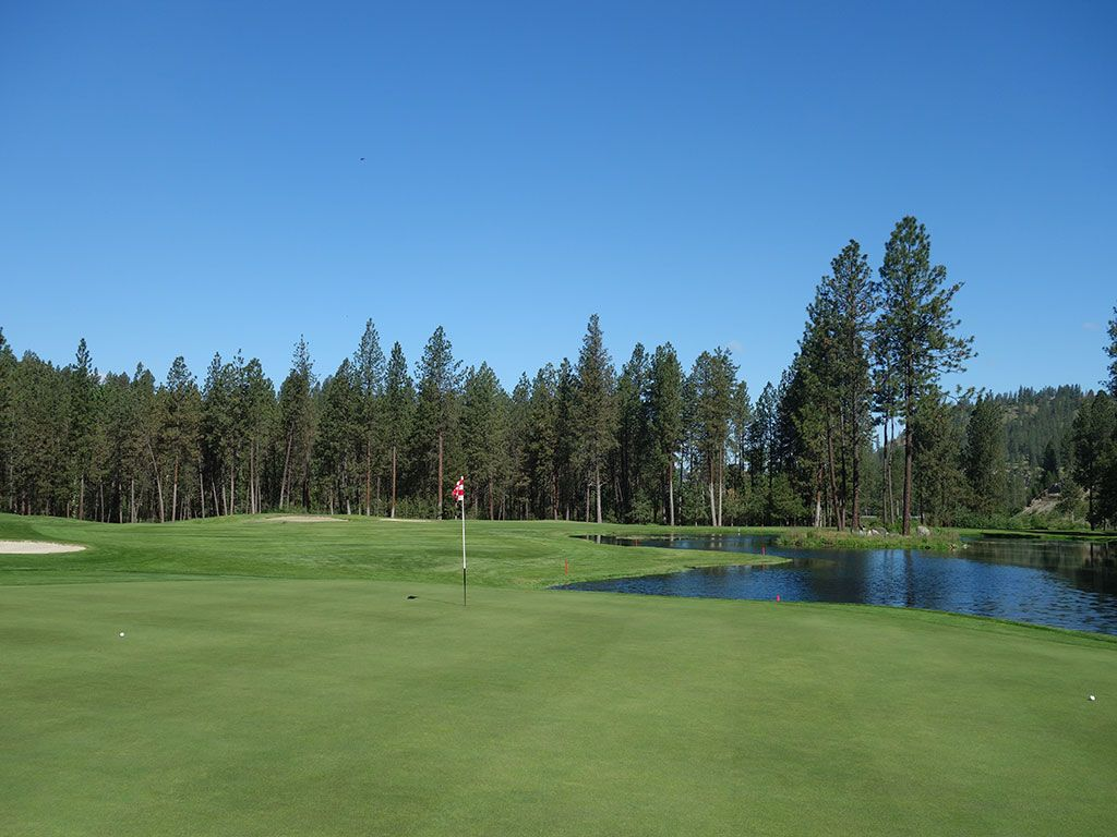 16th Hole at The Creek at Qualchan (503 Yard Par 5)