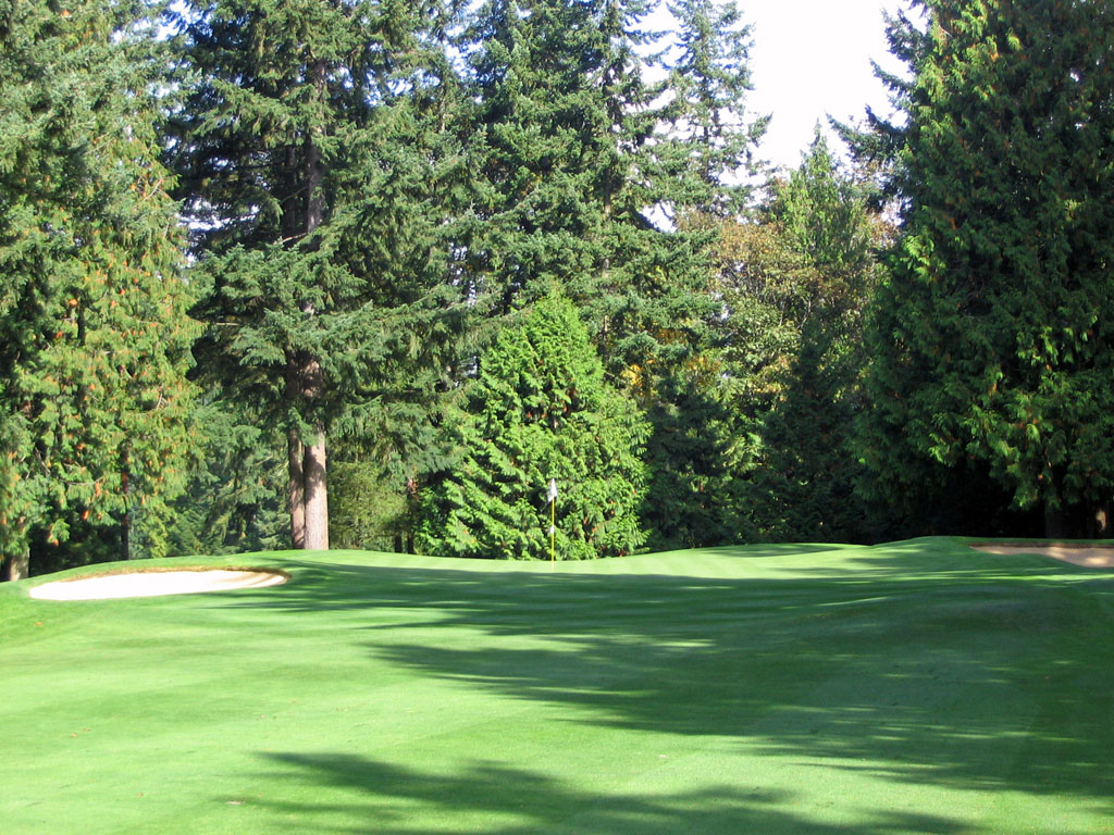 6th Hole at Sahalee (512 Yard Par 5)