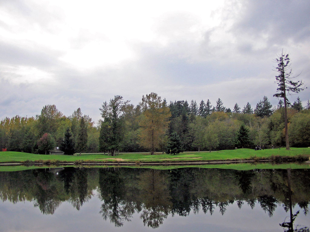 11th Hole at Semiahmoo Golf and Country Club