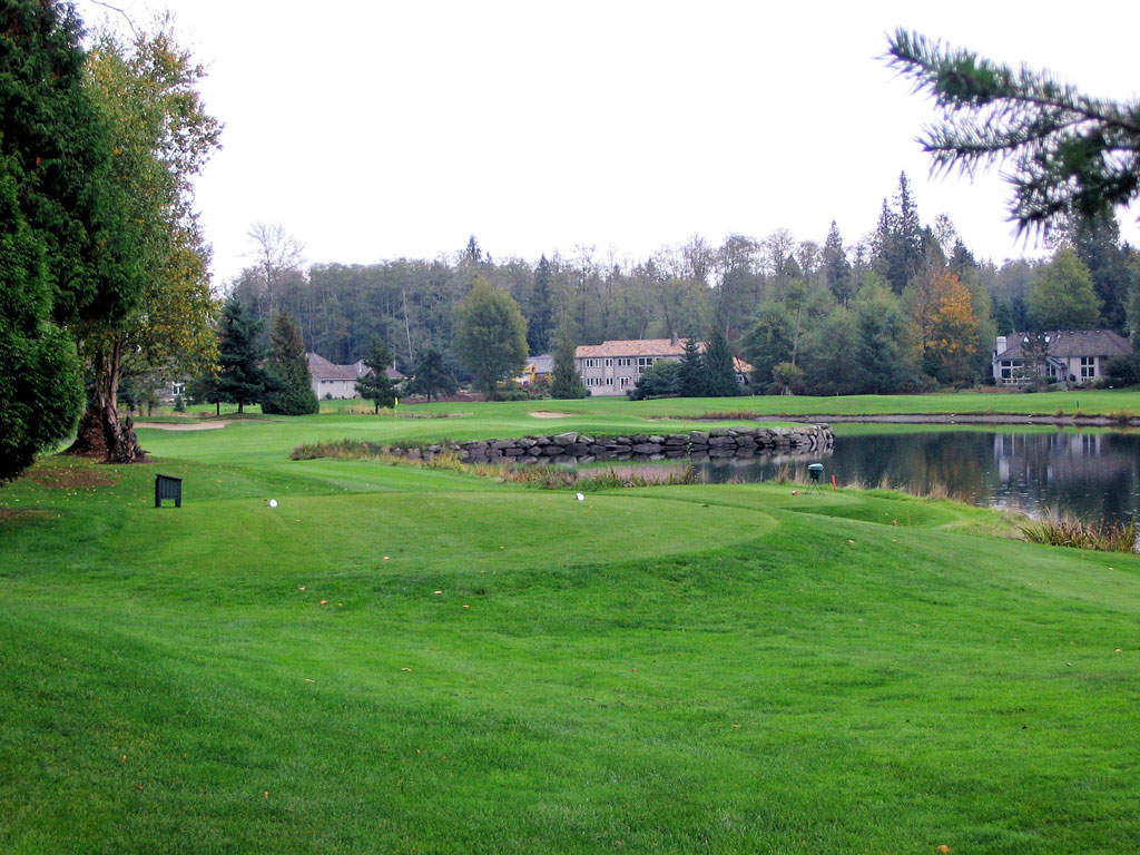 12th Hole at Semiahmoo Golf Club (173 Yard Par 3)