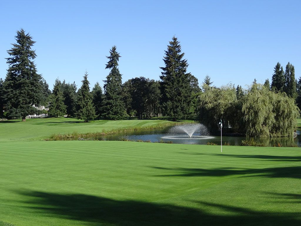 15th Hole at Tacoma Country and Golf Club (171 Yard Par 3)