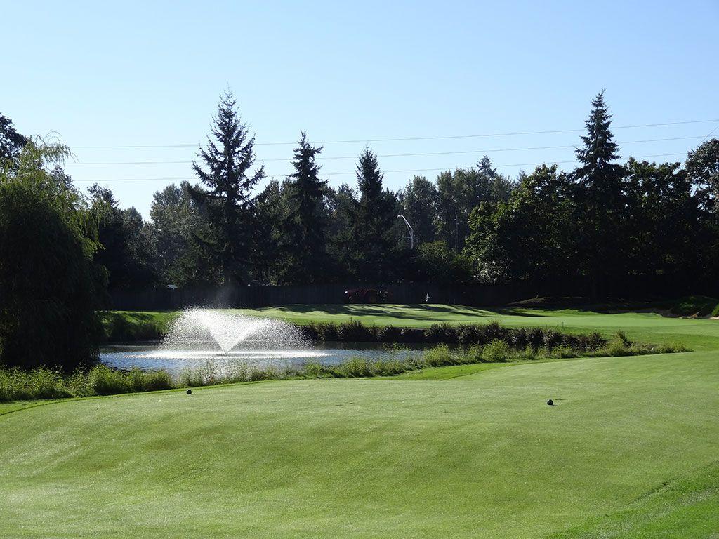 15th Hole at Tacoma Country and Golf Club (171 Yard Par 3)